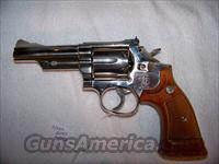 S&W MODEL 19-5 NICKEL  Guns > Pistols > Smith & Wesson Revolvers > Full Frame Revolver