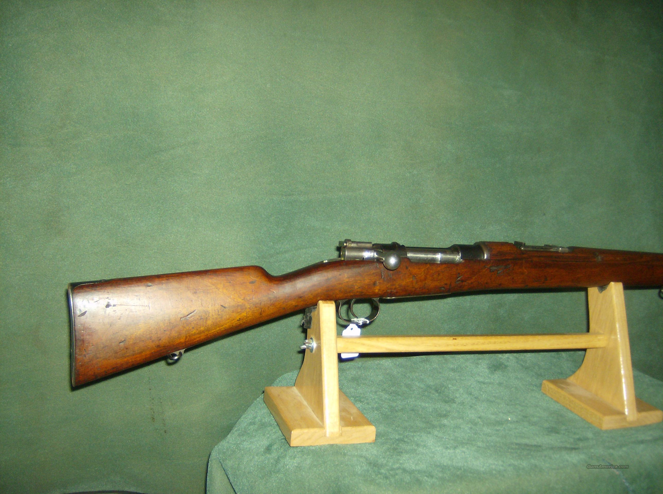 MODEL 1895 CHILIEAN 7MM RIFLE  Guns > Rifles > Military Misc. Rifles Non-US > Other