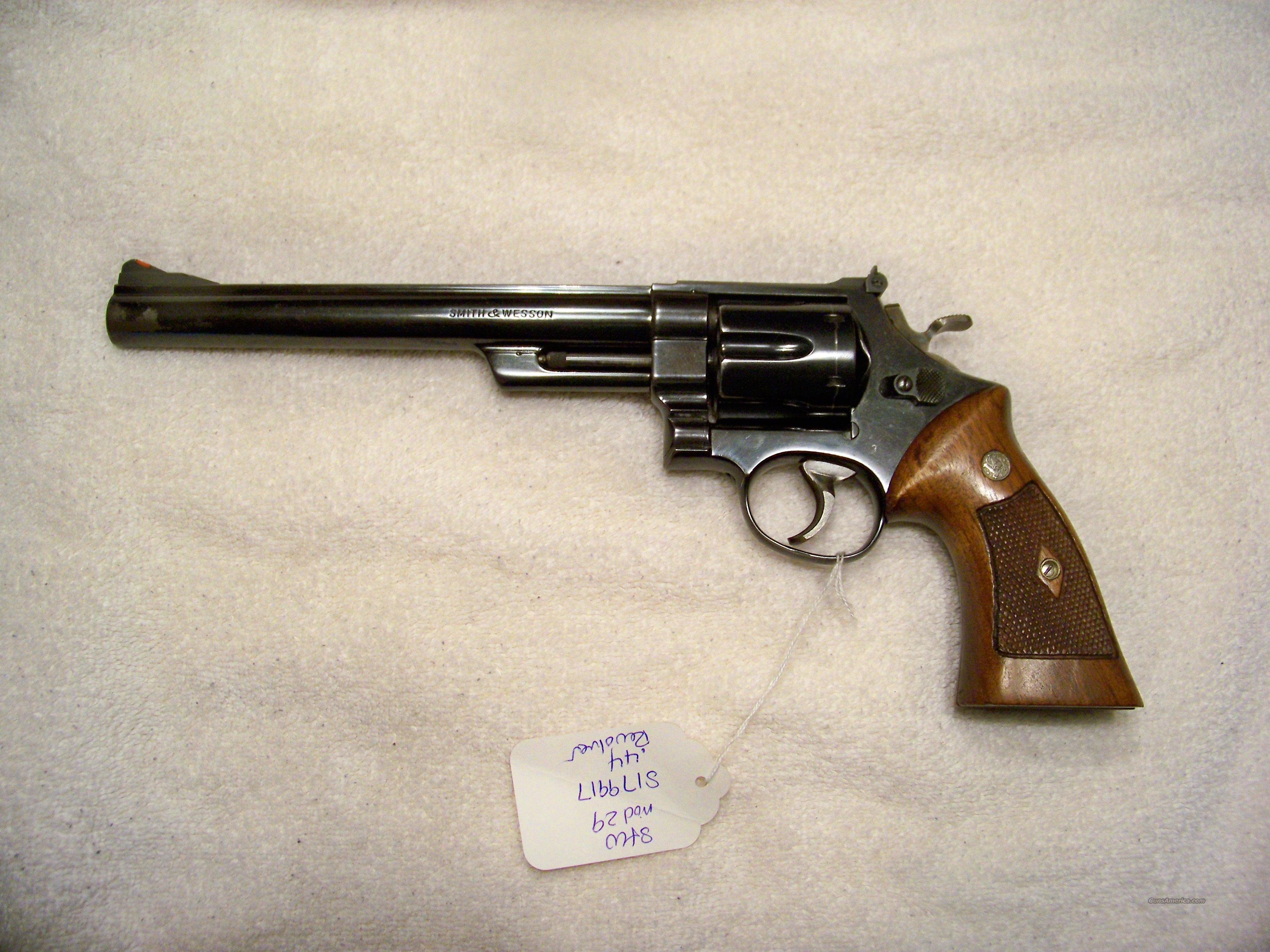 SMITH & WESSON PRE MODEL 29 (4) SCREW 44 MAG  Guns > Pistols > Smith & Wesson Revolvers > Full Frame Revolver