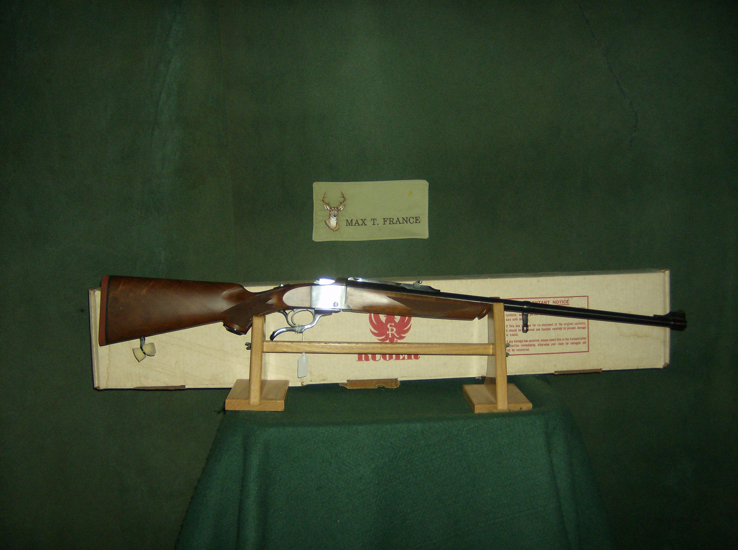 RUGER NUMBER 1 38-55 CALIBER  Guns > Rifles > Ruger Rifles > #1 Type