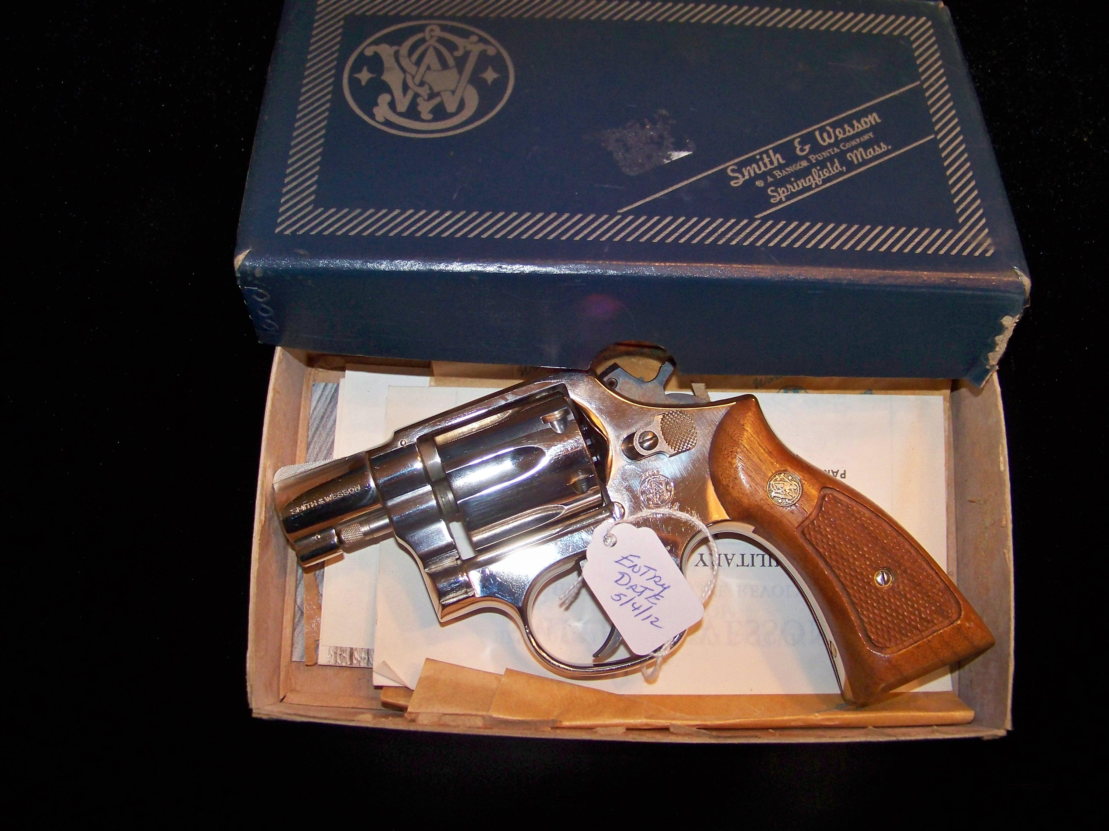 SMITH & WESSON MODEL 10 38 SPECIAL  Guns > Pistols > Smith & Wesson Revolvers > Model 10