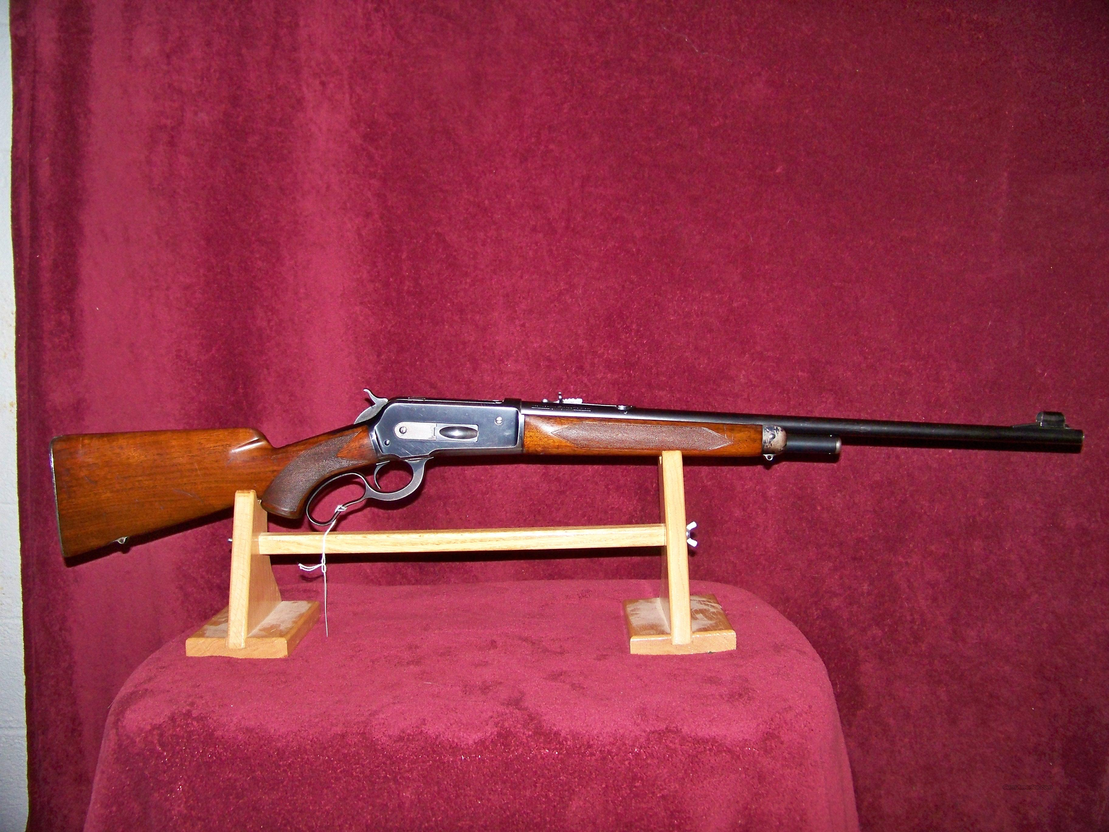 WINCHESTER DELUXE 71 LONG TANG  Guns > Rifles > Winchester Rifles - Modern Lever > Other Lever > Pre-64