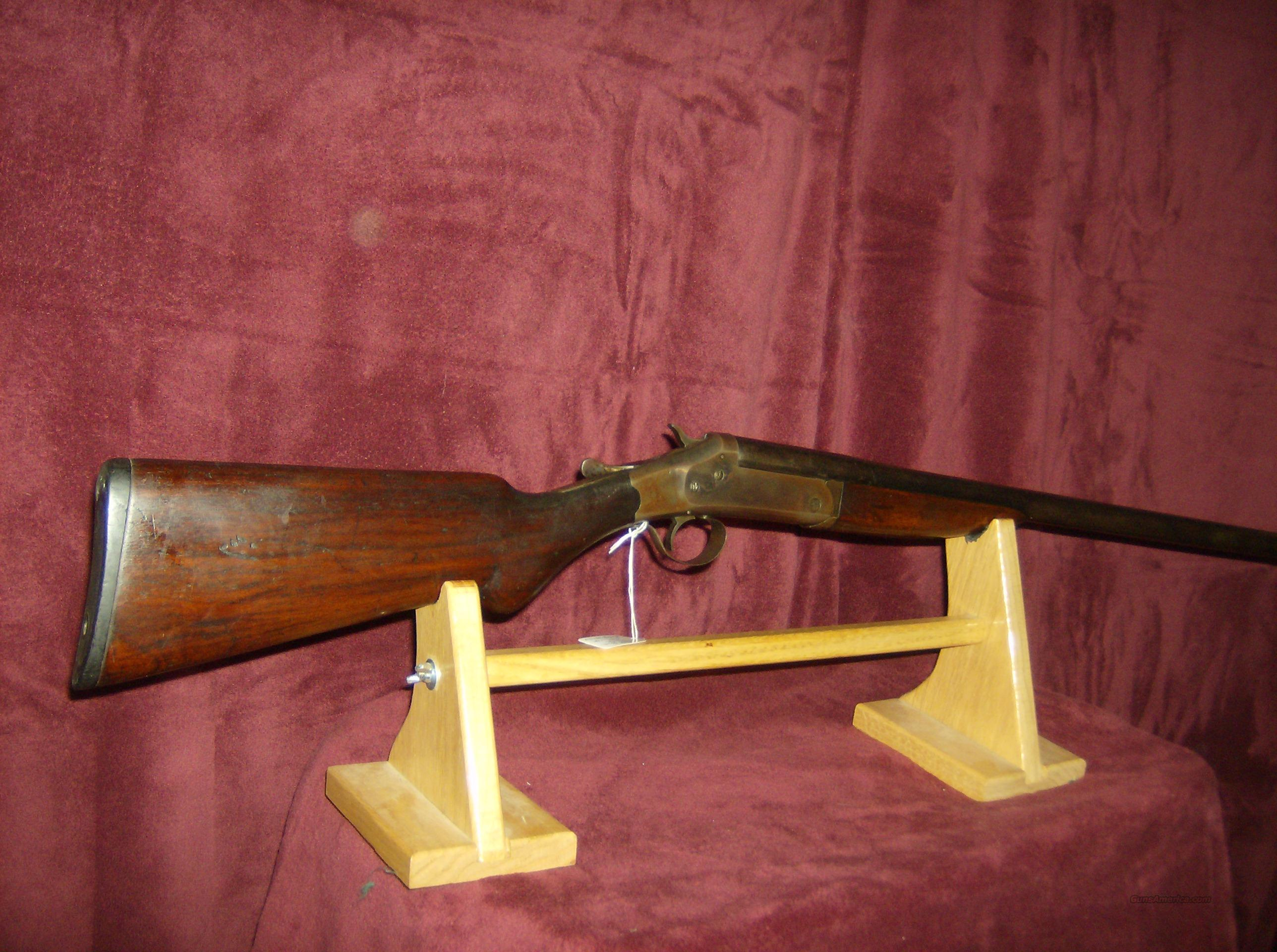 "WHITE POWDER WONDER 12GA 32"" BARREL  Guns > Shotguns > Antique (Pre-1899) Shotguns - Misc."