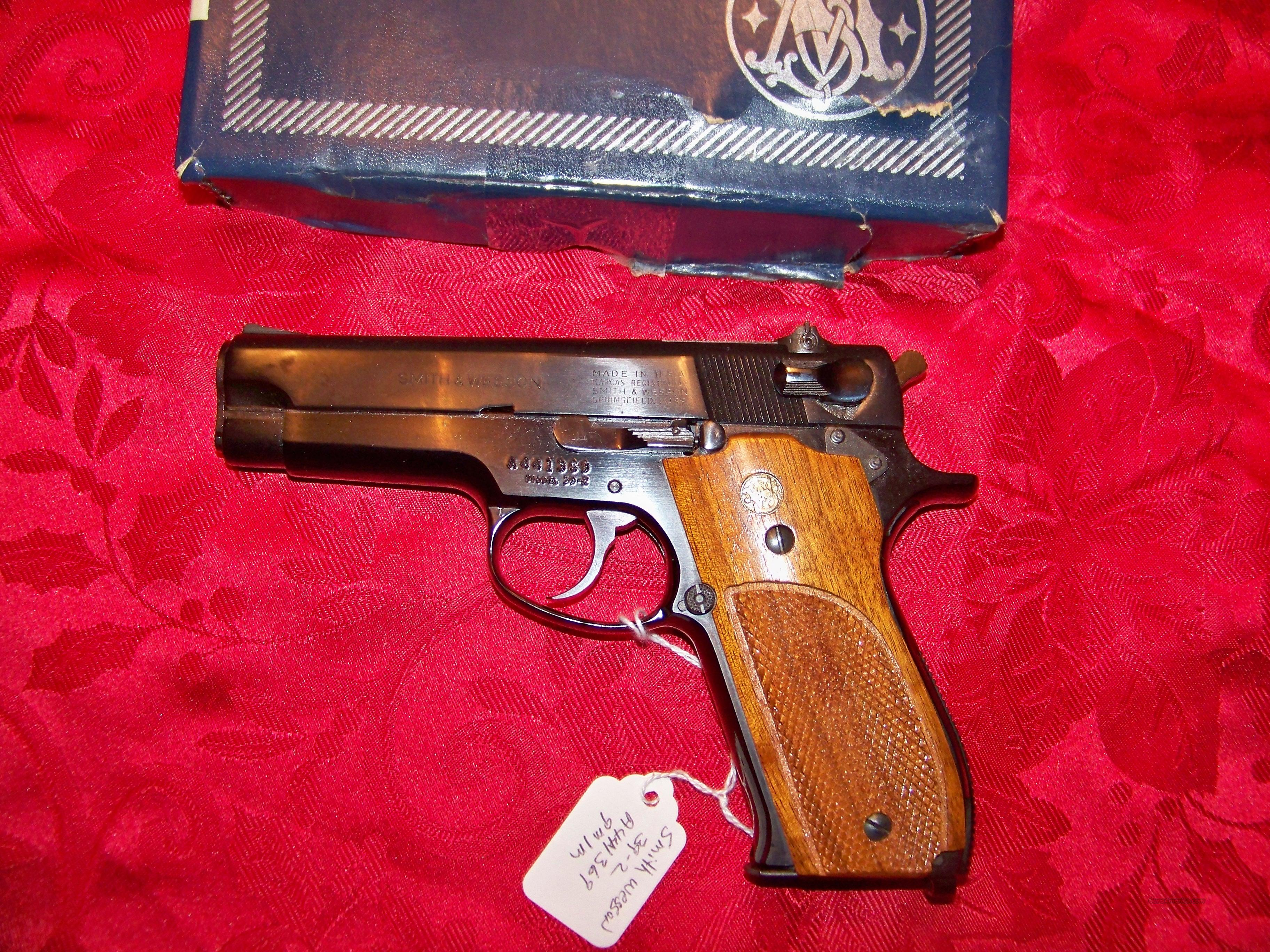 ((((SOLD)))SMITH & WESSON MODEL 39-2 NEW IN BOX  Guns > Pistols > Smith & Wesson Pistols - Autos > Alloy Frame