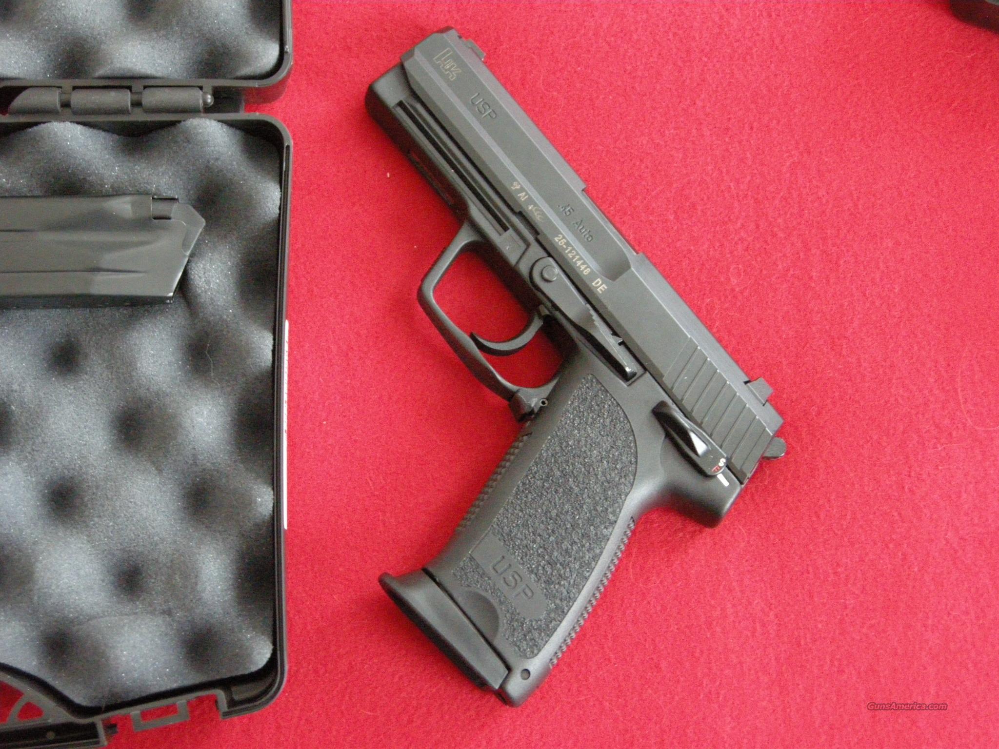 Heckler & Koch USP45  Guns > Pistols > Heckler & Koch Pistols > Polymer Frame
