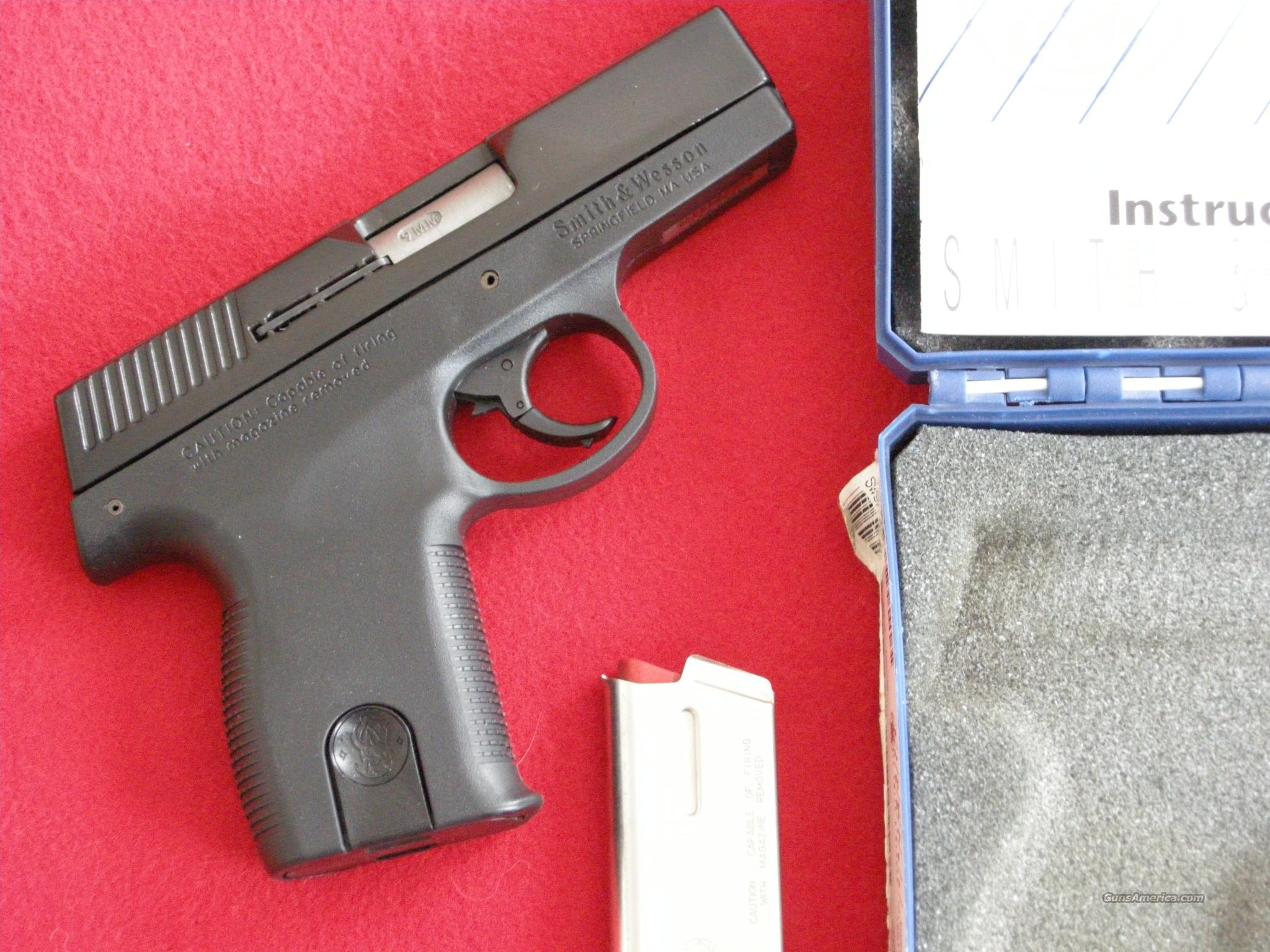 Smith & Wesson Sigma model SW9M  Guns > Pistols > Smith & Wesson Pistols - Autos > Polymer Frame