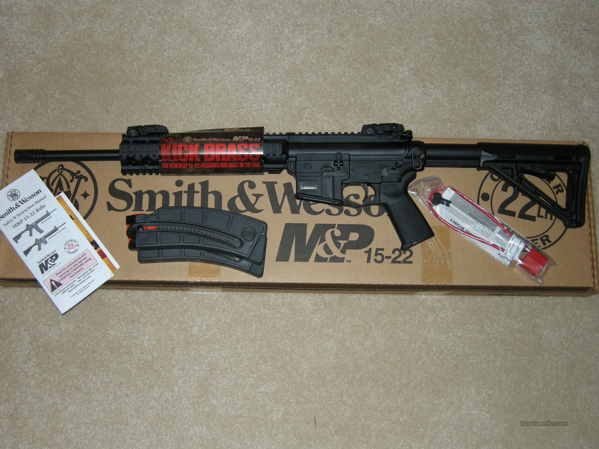 S&W M&P15-22  Guns > Rifles > Smith & Wesson Rifles > M&P