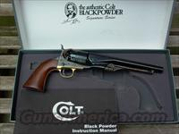 COLT 1860 ARMY SIGNATURE =SERIES 44  Colt Percussion Revolver - Modern
