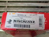 94 TRAPPER 357 16 INCH BARREL UNFIRED  Guns > Rifles > Winchester Rifles - Modern Lever > Model 94 > Post-64