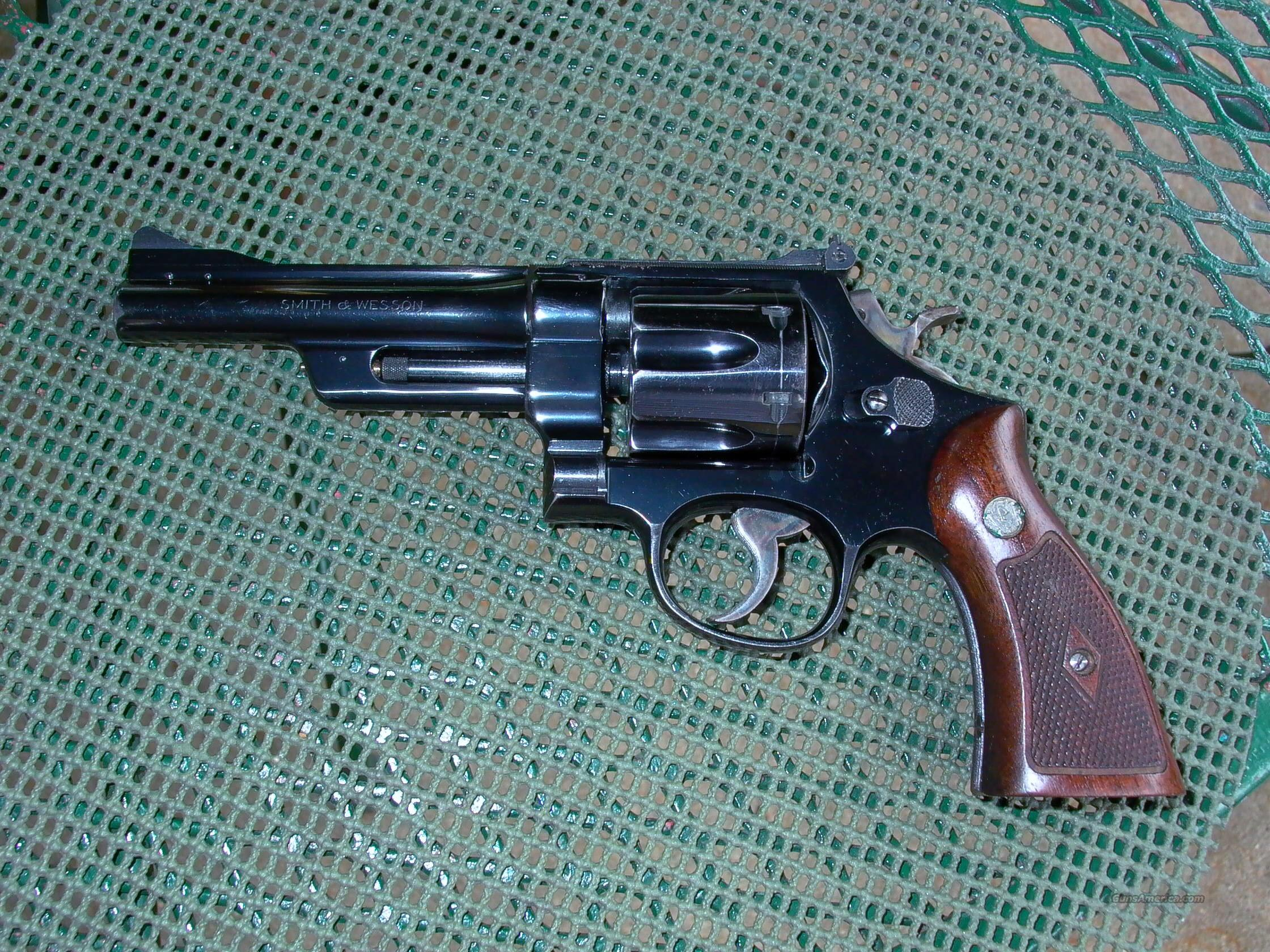 PRE MODEL 27 5 INCH 357 MAGNUM  Guns > Pistols > Smith & Wesson Revolvers > Full Frame Revolver