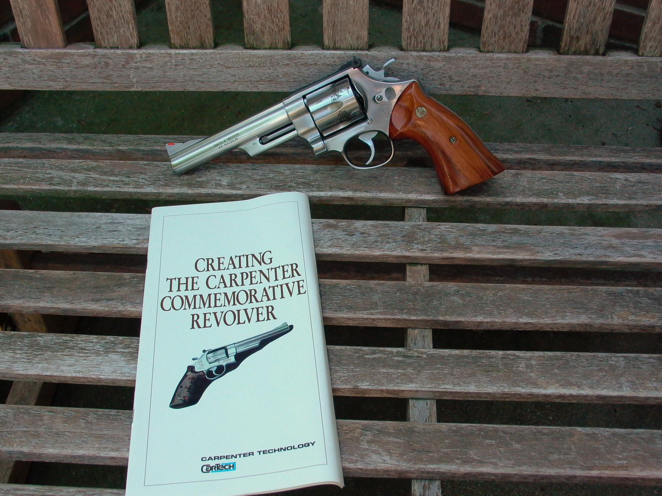 629 6 inch 44 Mag Carpenter Technology Commemorative  Guns > Pistols > Smith & Wesson Revolvers > Model 629