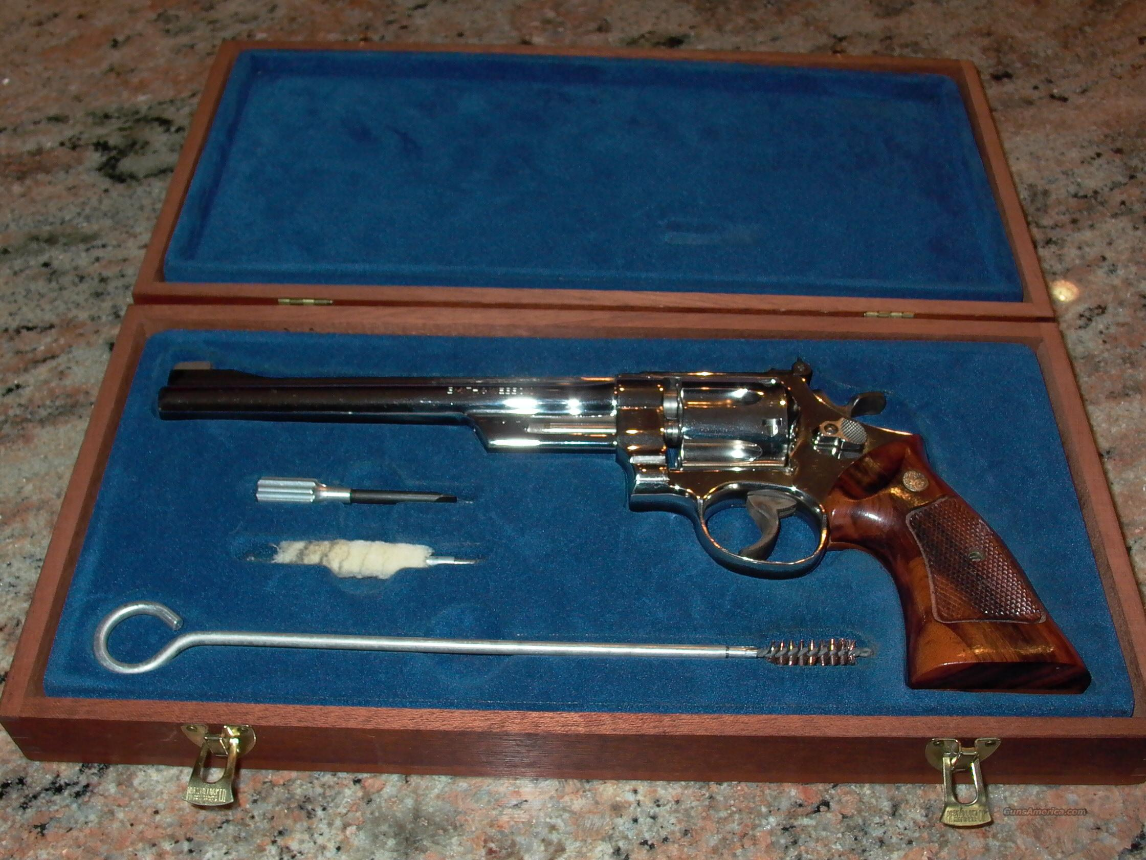 27-2 NICKLE FINISH 357 PRESENTATION CASE  Guns > Pistols > Smith & Wesson Revolvers > Full Frame Revolver