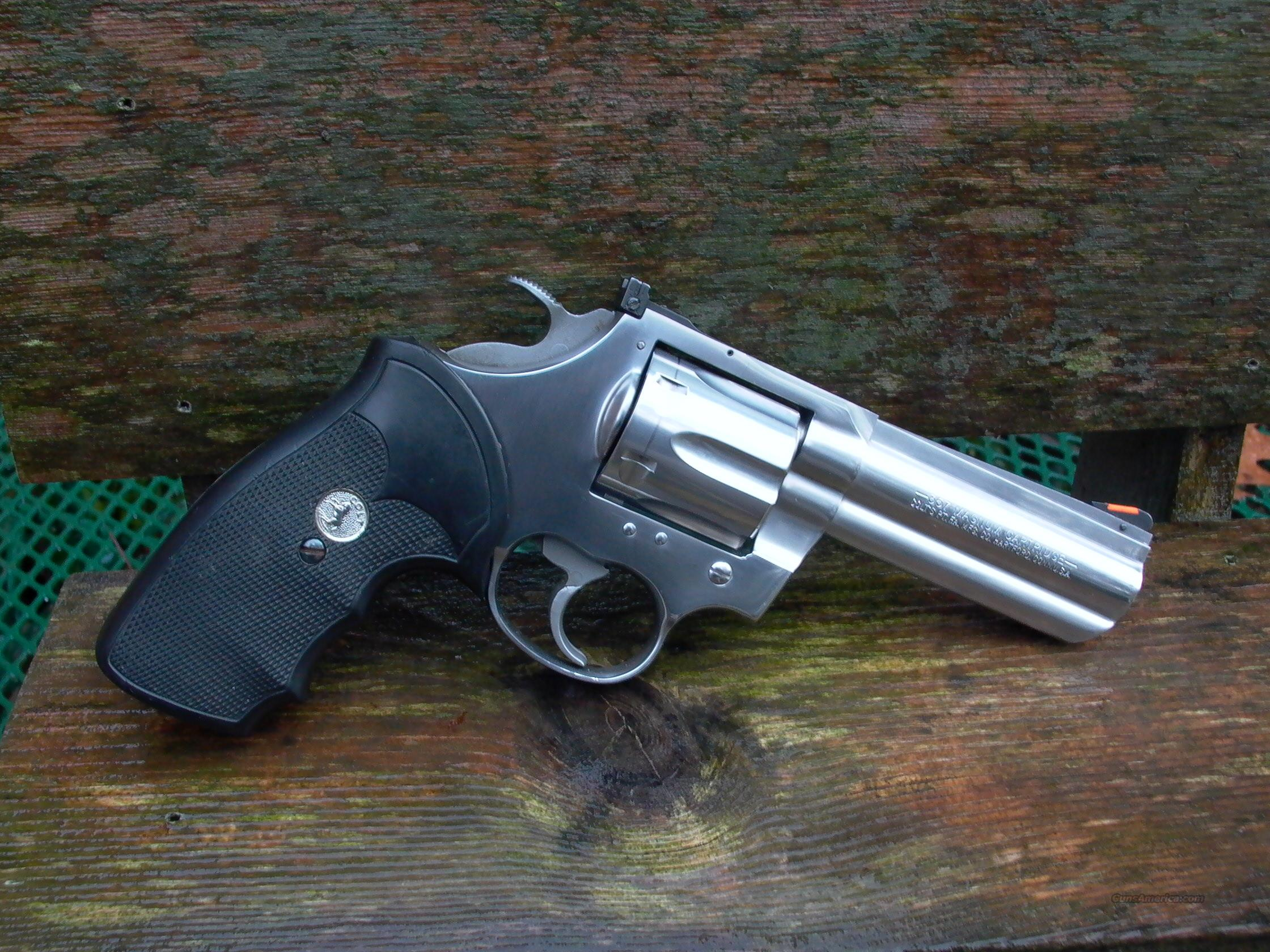 COLT KING COBRA 4 INCH 357 STAINLESS STEEL  Guns > Pistols > Colt Double Action Revolvers- Modern