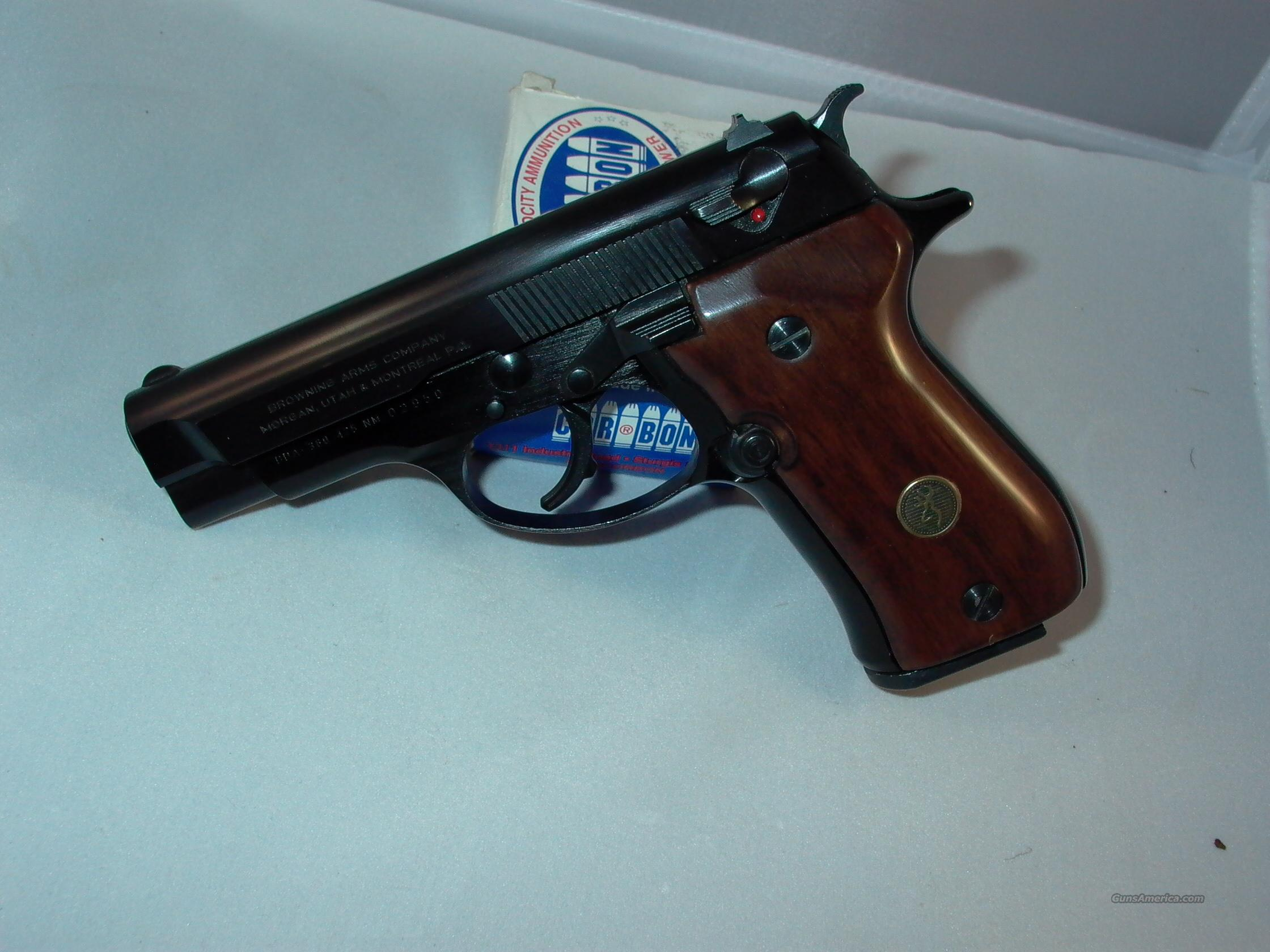 BROWNING 380 DA AUTO  Guns > Pistols > Browning Pistols > Other Autos
