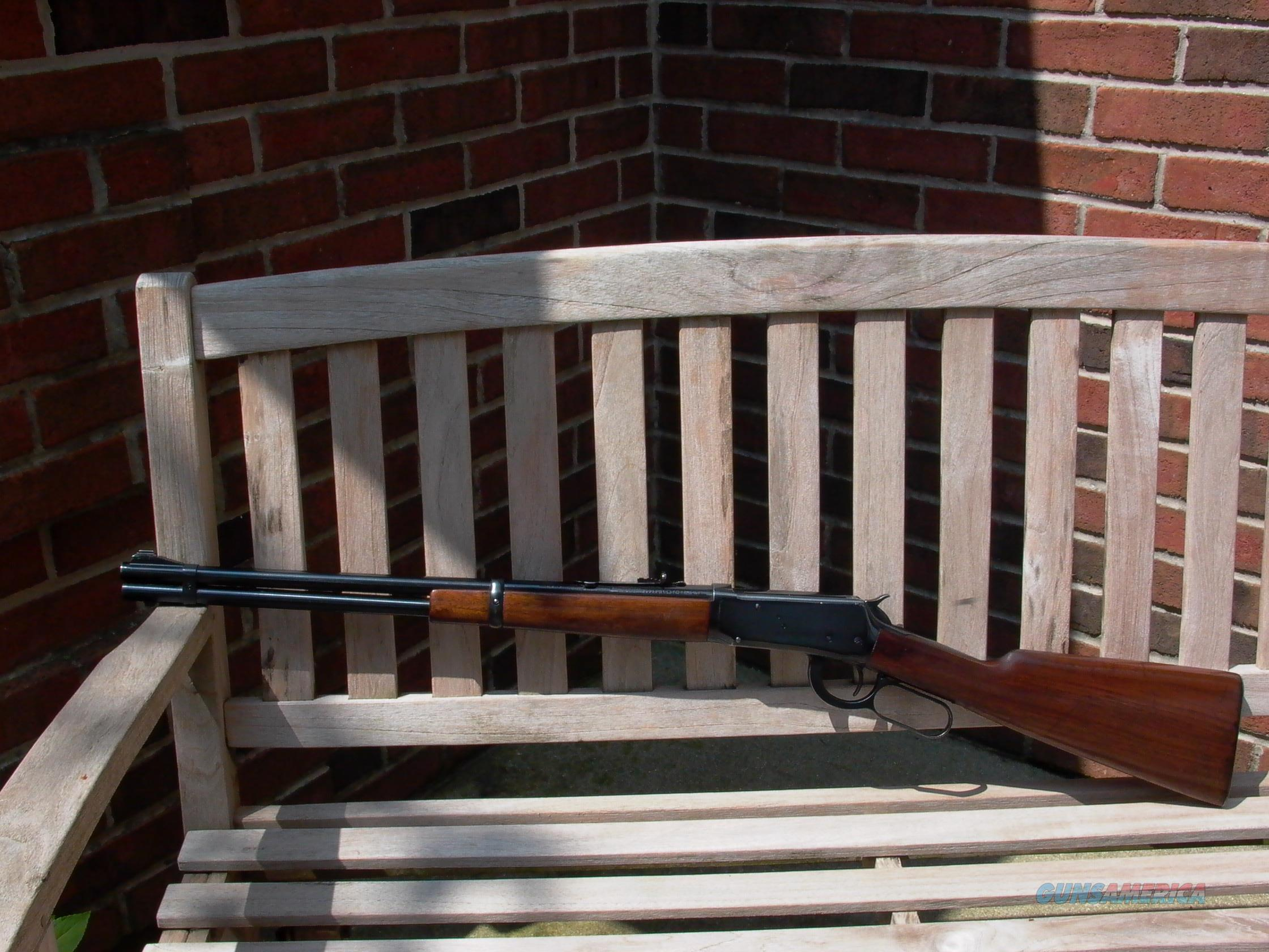 94 FLAT BAND 25-35 WCF MADE DURING WWII  Guns > Rifles > Winchester Rifles - Modern Lever > Model 94 > Pre-64