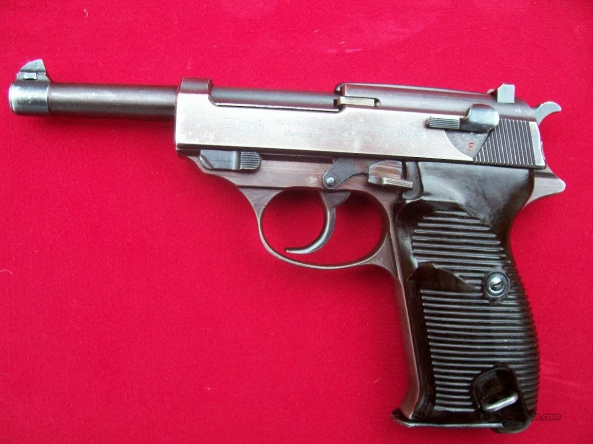 WWII Walther Mod. HP P38  Guns > Pistols > Walther Pistols > Pre-1945 > P-38
