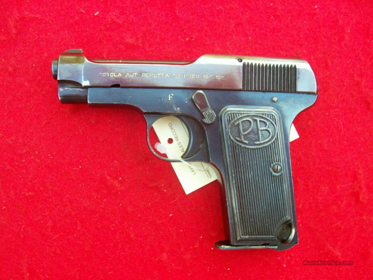 Beretta Mod. 1922  Guns > Pistols > Beretta Pistols > Small Caliber Tip Out
