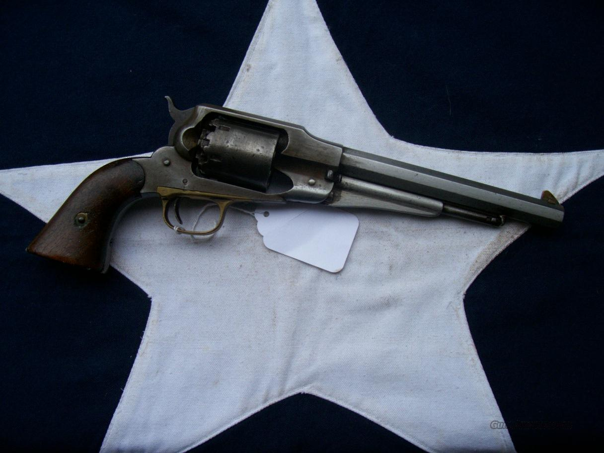 Military Marked Model 1858 Remington  Guns > Pistols > Military Misc. Pistols US > Pre-1900