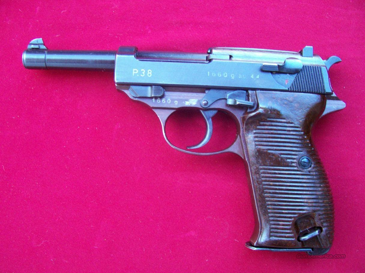 WWII Walther P38 ac44  Guns > Pistols > Walther Pistols > Pre-1945 > P-38