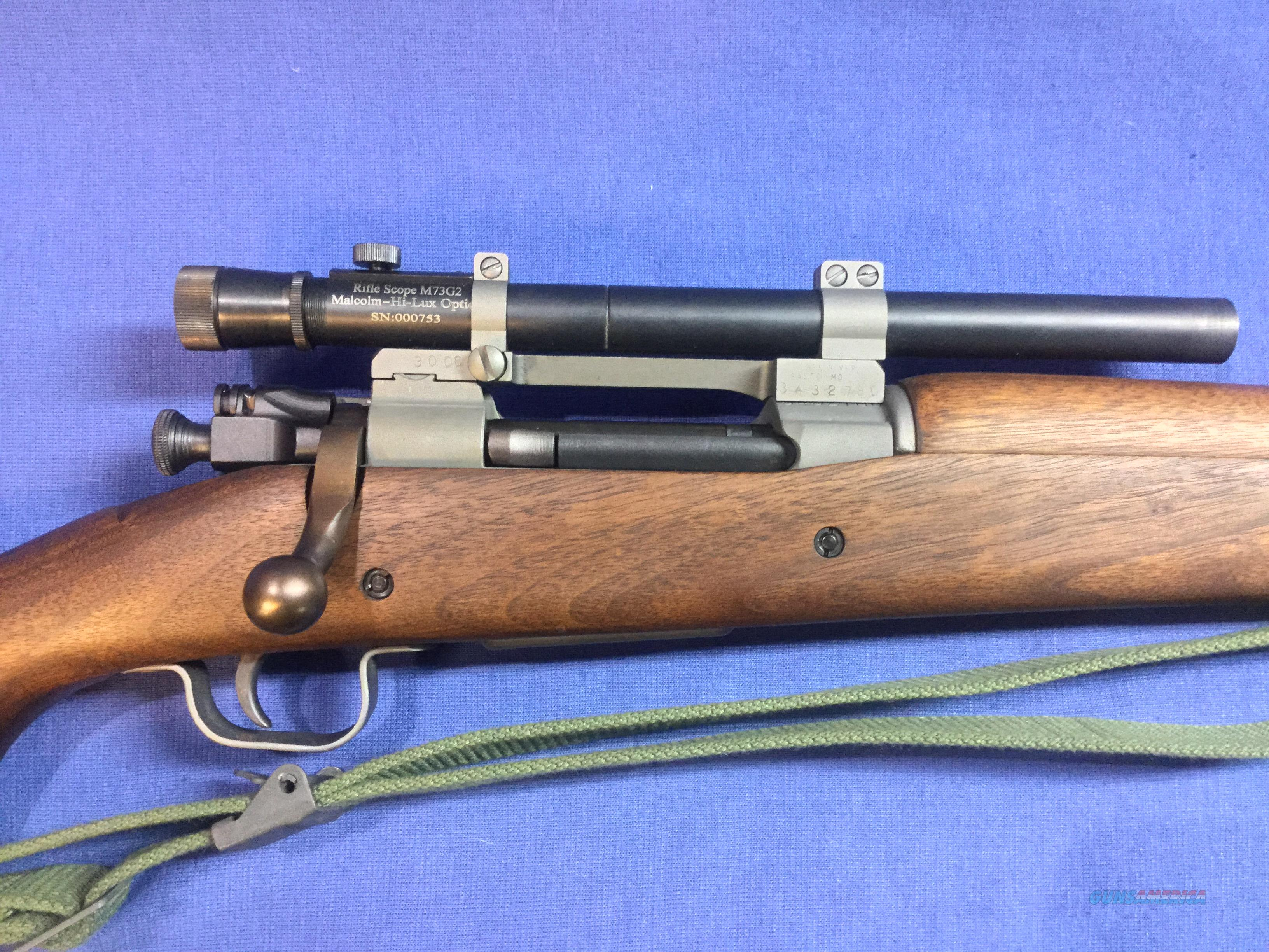 US Remington M1903-A3 (A4) James River Armory   Guns > Rifles > Military Misc. Rifles US > Sniper Variants