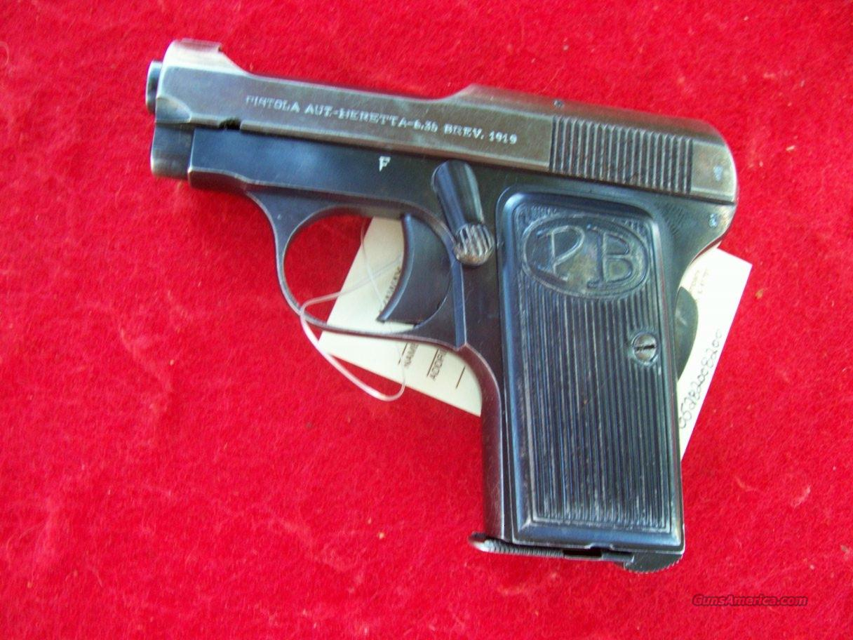 Beretta Model 1919  Guns > Pistols > Beretta Pistols > Small Caliber Tip Out