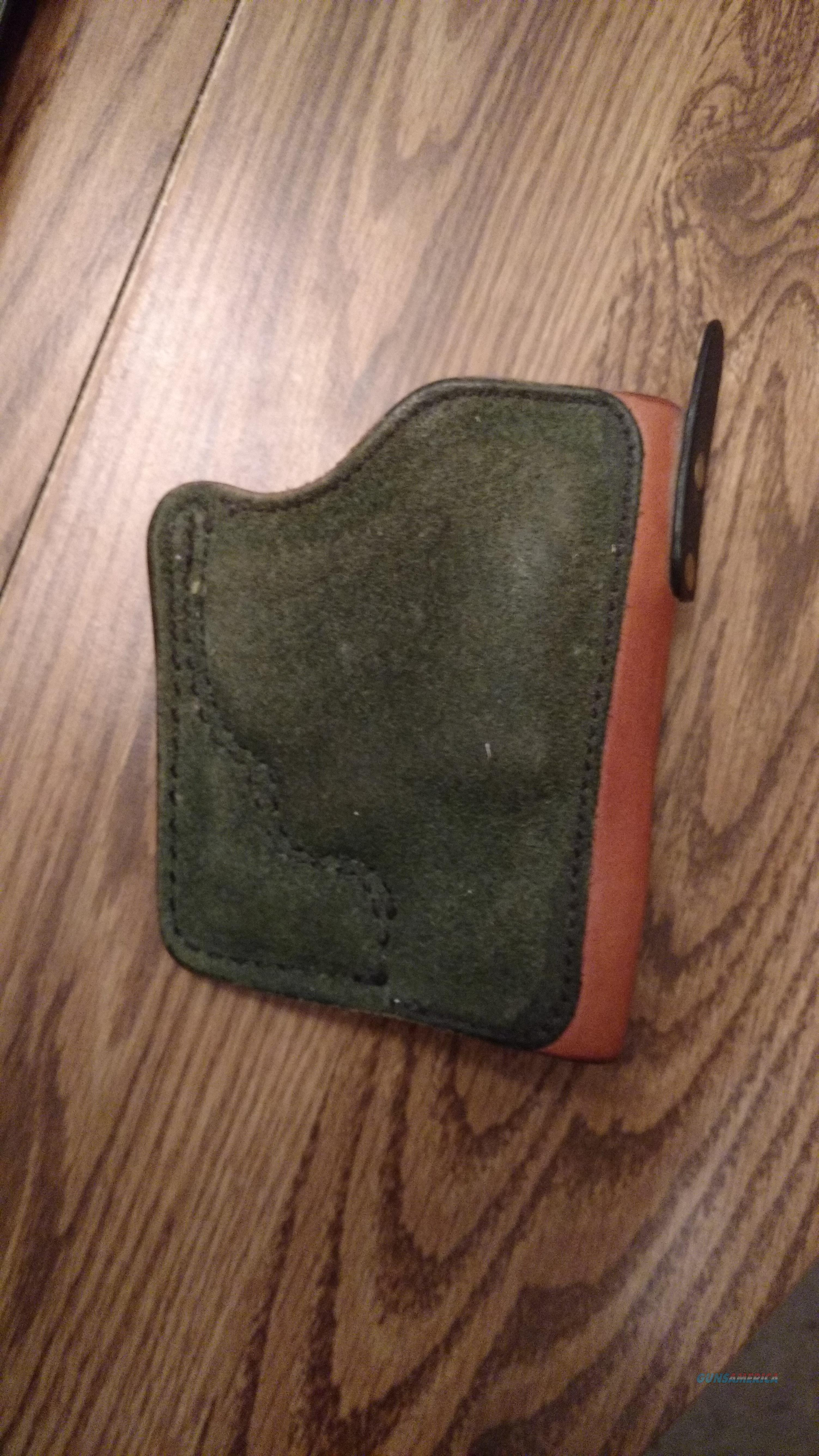 Mitch Rosen Pocket Softy J-Frame  Non-Guns > Holsters and Gunleather > Concealed Carry