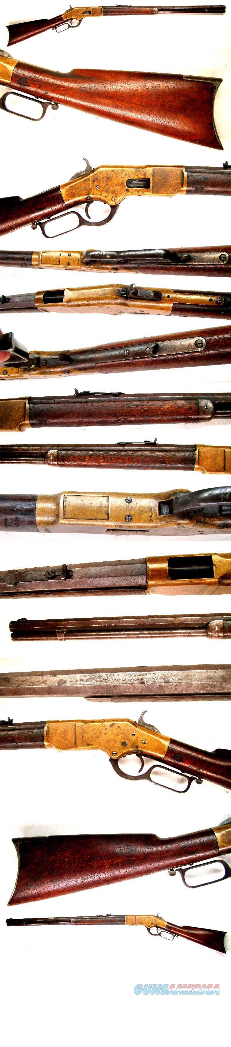 Winchester Model 1866 Rifle  Guns > Rifles > Winchester Rifles - Pre-1899 Lever