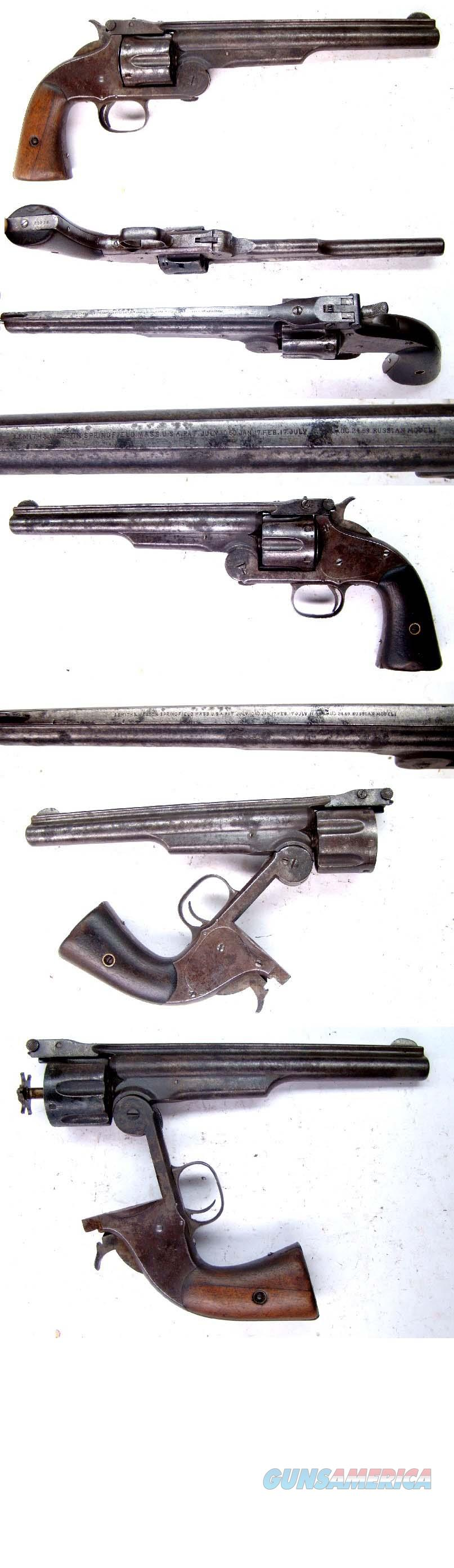 Smith and Wesson 2nd Model American russian model  Guns > Pistols > Smith & Wesson Revolvers > Pre-1899