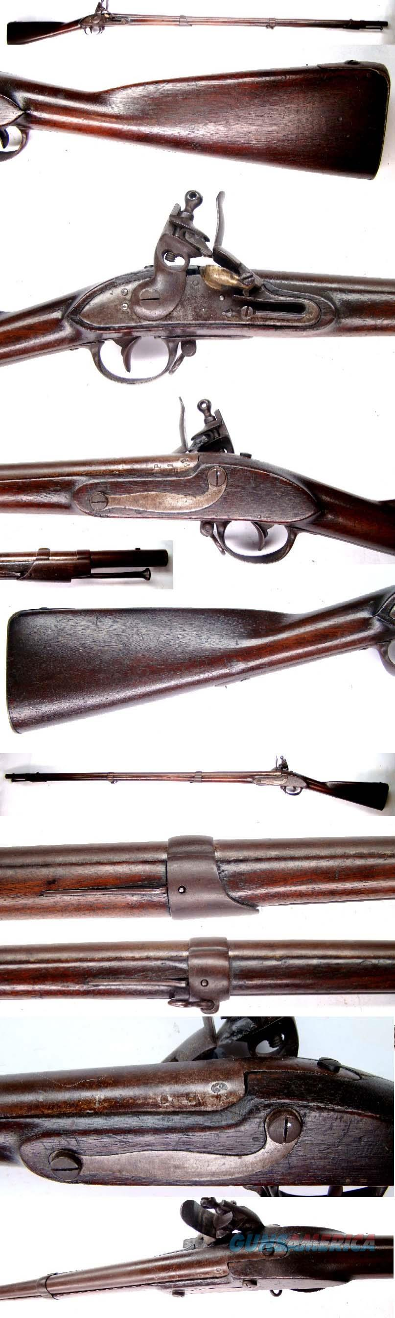 Flintlock NY State Militia Musket  Guns > Rifles > Antique (Pre-1899) Rifles - Flintlock Misc
