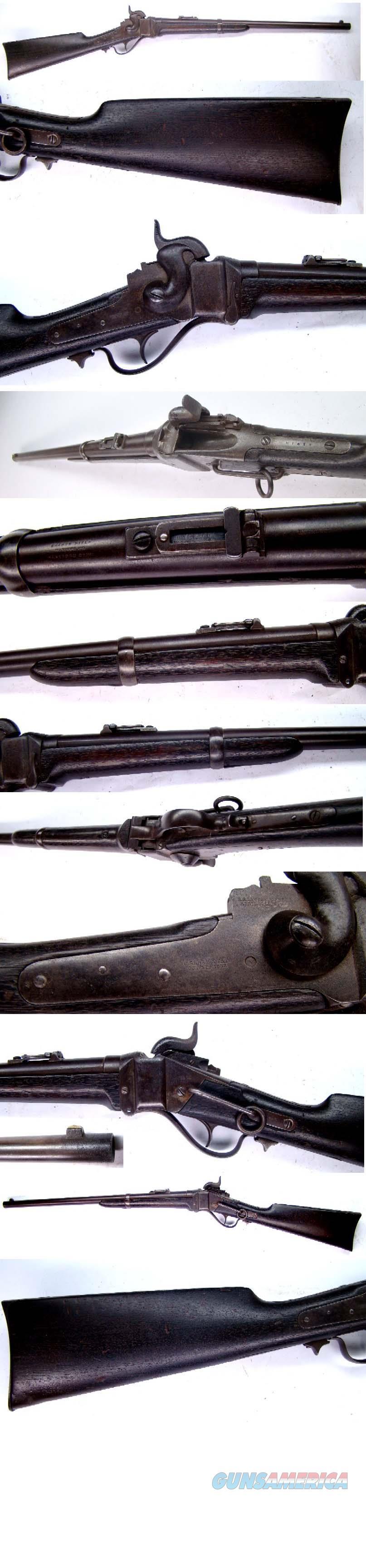 Sharps Percussion Civil War Carbine   Guns > Rifles > Sharps Rifles - Pre-1899