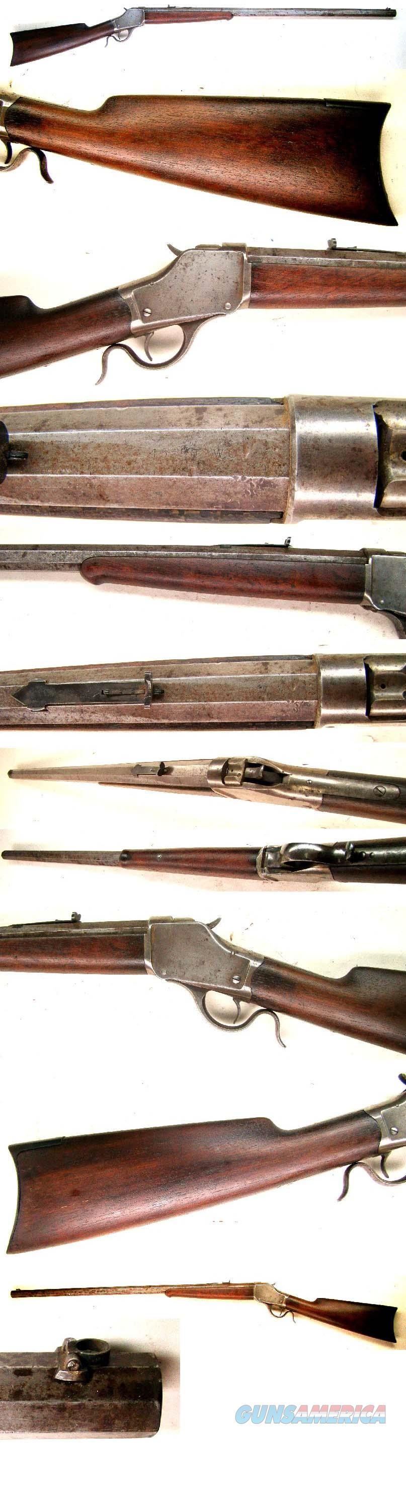 Winchester Hi Wall Sporting Rifle  45-90  Guns > Rifles > Winchester Rifles - Pre-1899 Bolt/Single Shot
