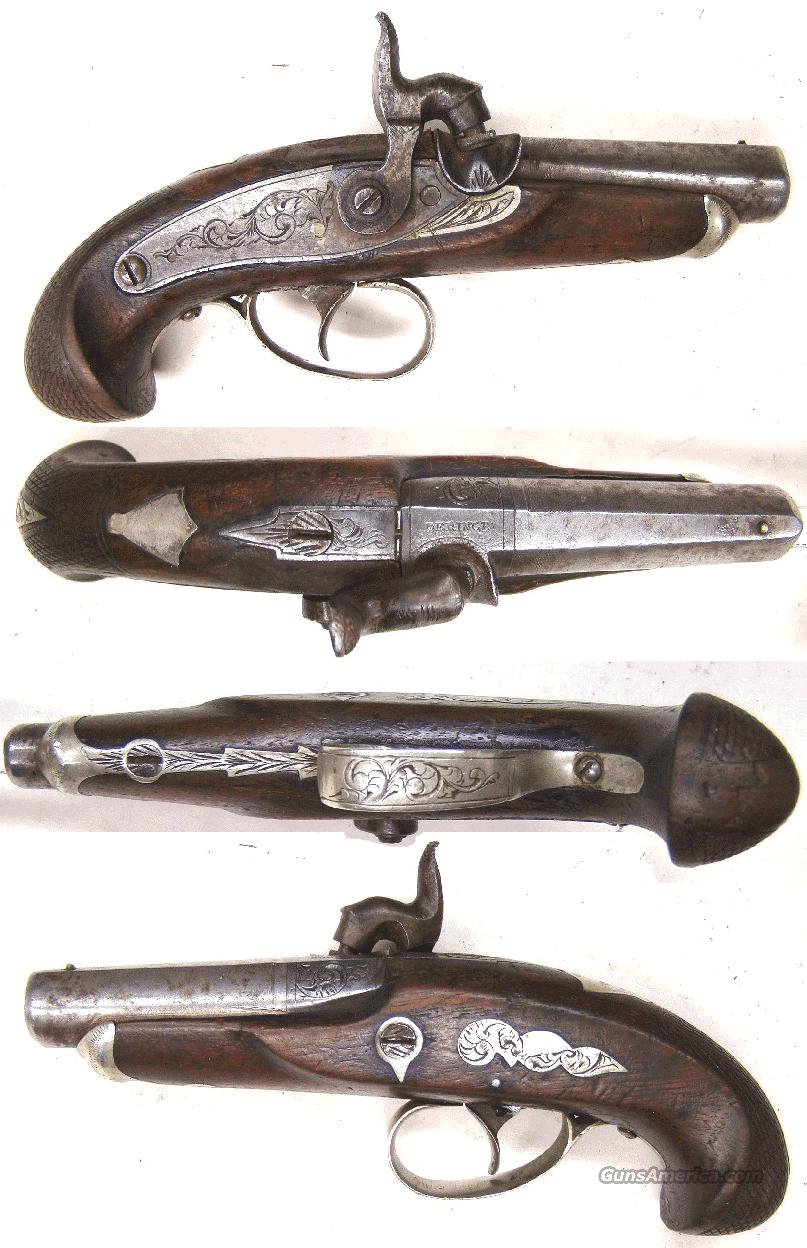 Lincoln Derringer  Guns > Pistols > Antique (Pre-1899) Pistols - Perc. Misc.