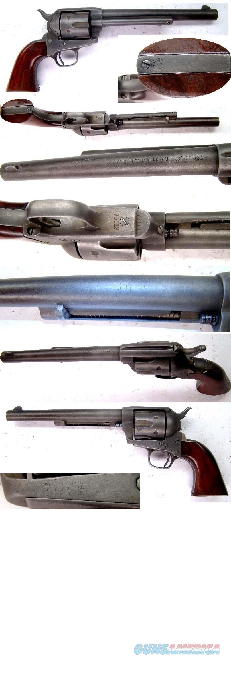 Colt SAA  44-40  Guns > Pistols > Colt Single Action Revolvers - 1st Gen.
