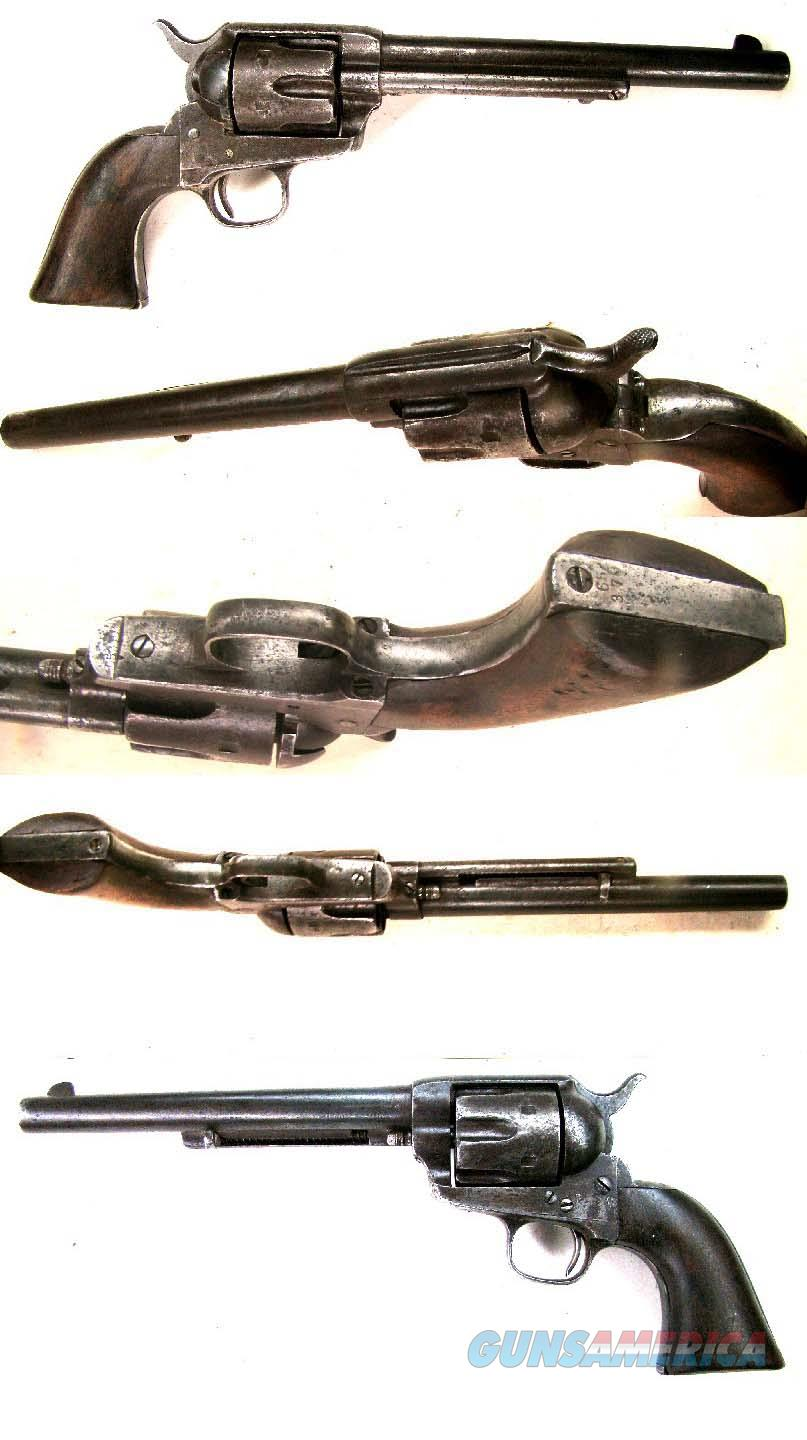 Colt SAA  45  Guns > Pistols > Colt Single Action Revolvers - 1st Gen.
