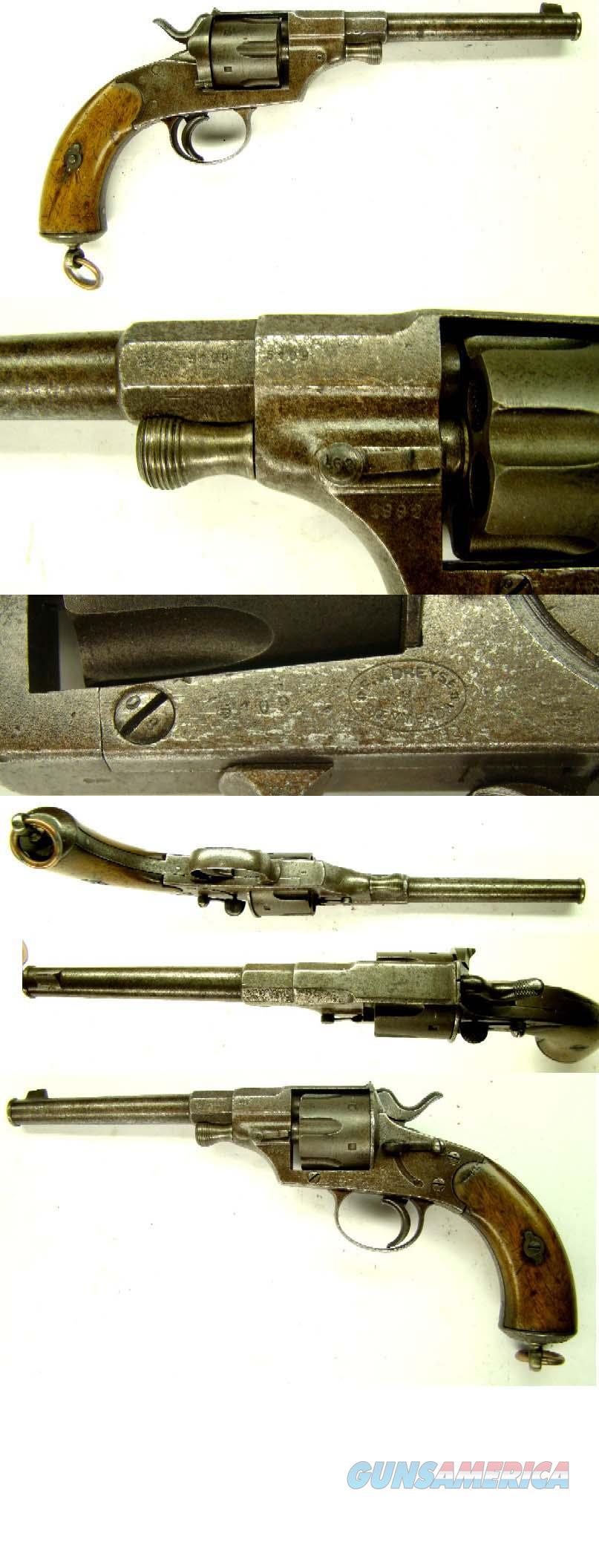 Reichsrevolver Cavalry Model 1879  Guns > Pistols > Military Misc. Pistols Non-US