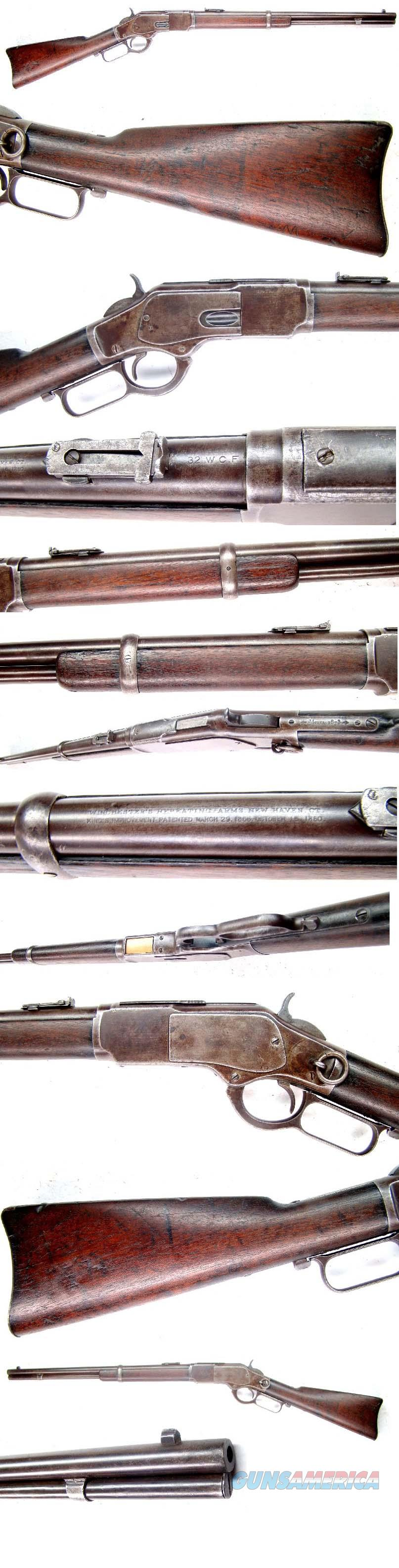 Winchester Model 1873 Saddle Ring Carbine 32-20  Guns > Rifles > Winchester Rifles - Pre-1899 Lever