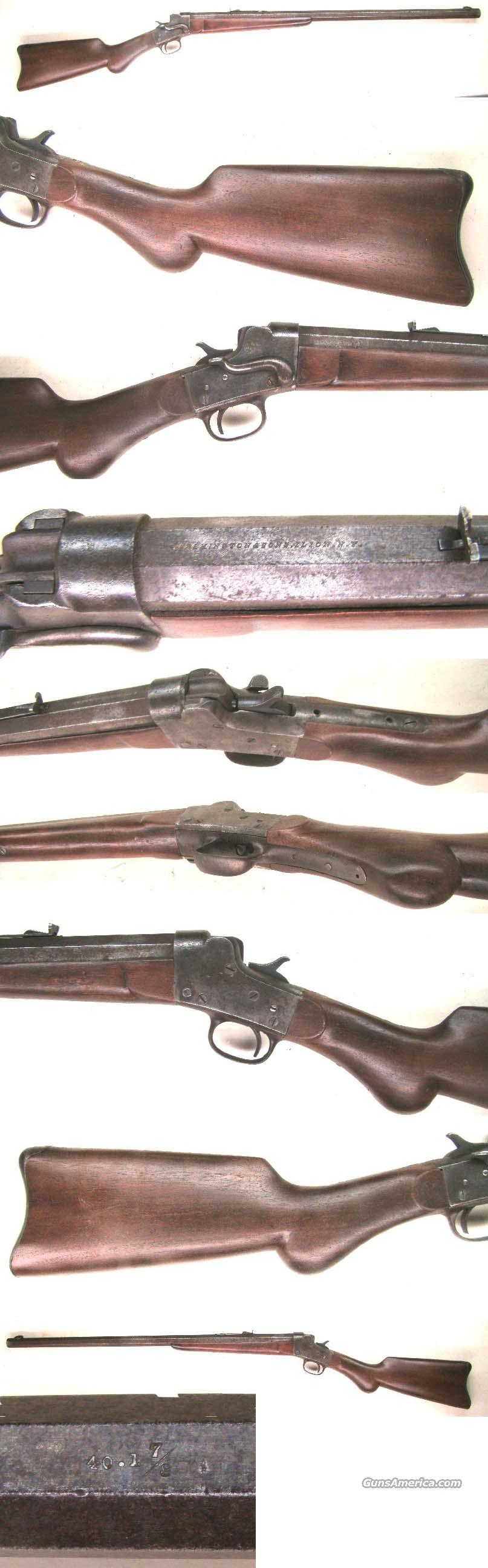 Remington Hepburn Rifle   Guns > Rifles > Remington Rifles - Pre-1899