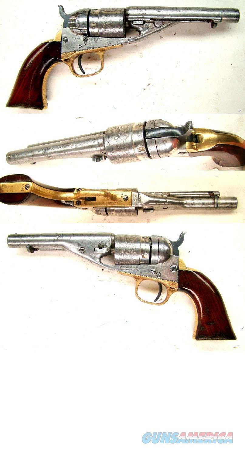 Colt 1862 Pocket Navy Conversion Revolver  Guns > Pistols > Colt Single Action Revolvers - 1st Gen.