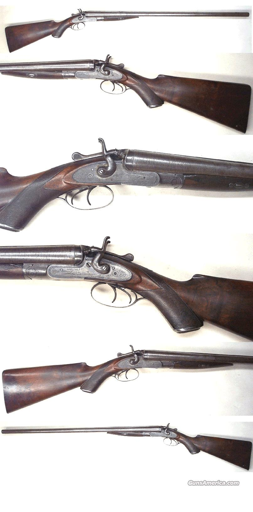Wm Moore & Co Hammer Dble  Guns > Shotguns > Antique (Pre-1899) Shotguns - Misc.