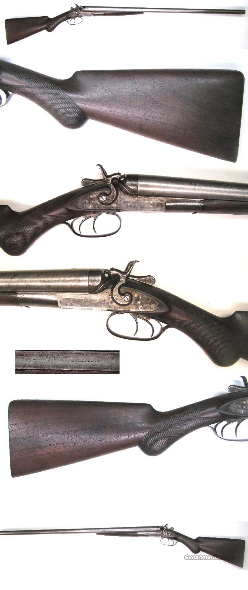 Remington 1882 Dble Barrel Shotgun  Guns > Shotguns > Remington Shotguns  > Side x Side Pre-1899