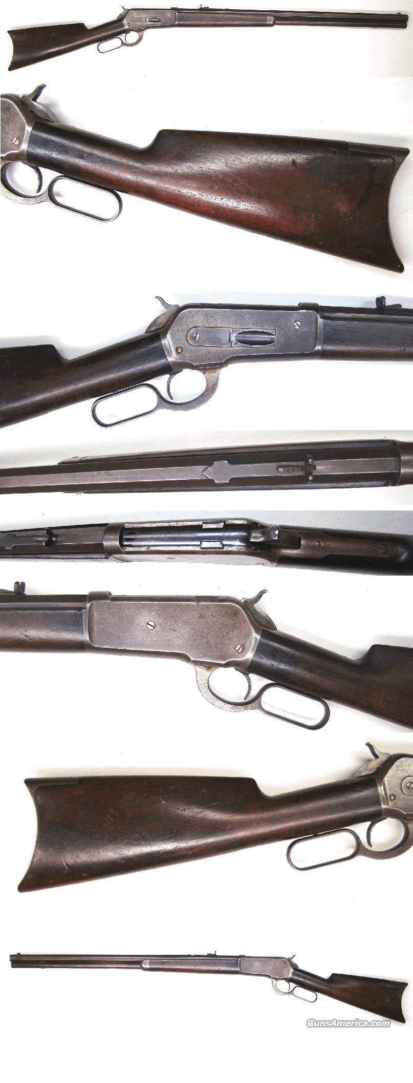 Winchester Model 1886 Rifle   Guns > Rifles > Winchester Rifles - Pre-1899 Lever