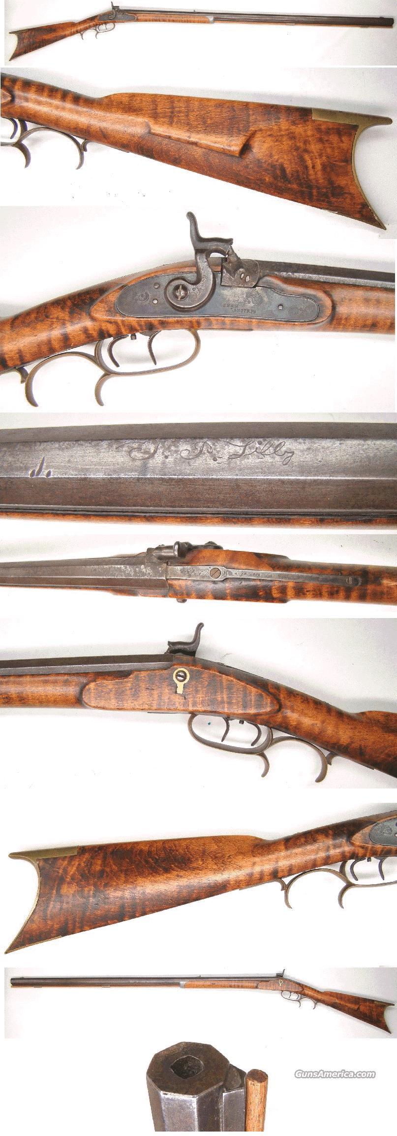 T.P.Lilly  Percussion Rifle  Guns > Rifles > Antique (Pre-1899) Rifles - Perc. Misc.