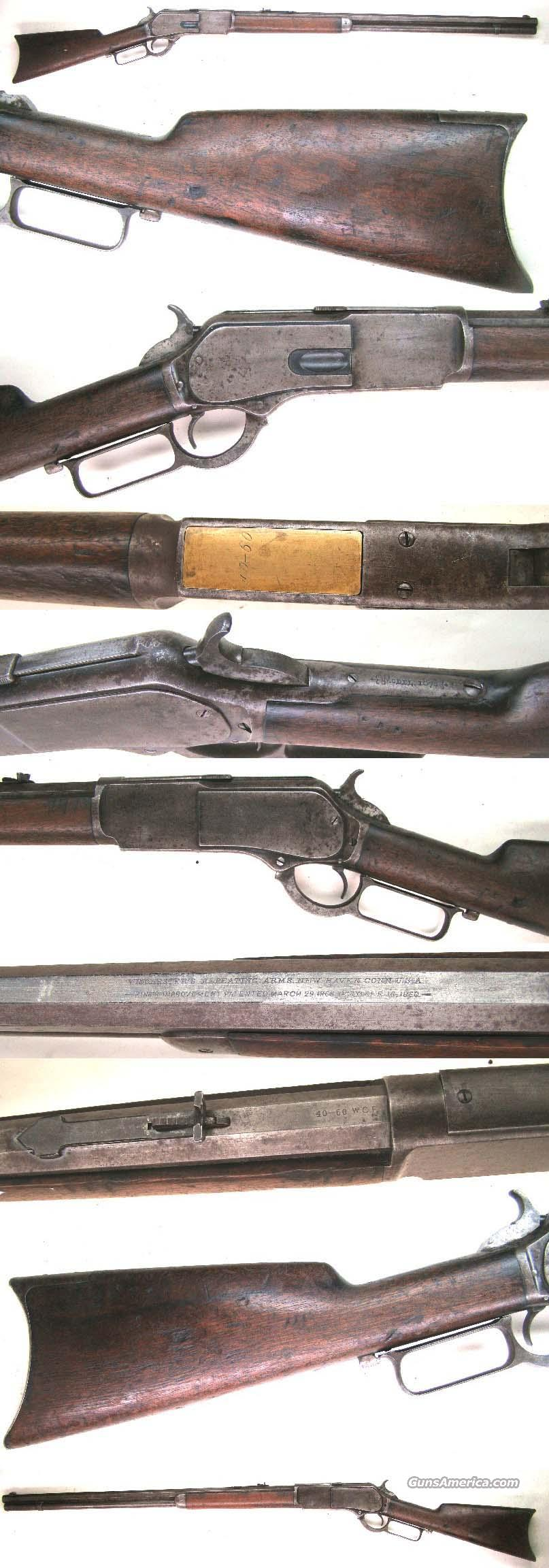 Winchester Model 1876 Rifle 40 cal  Guns > Rifles > Winchester Rifles - Pre-1899 Lever