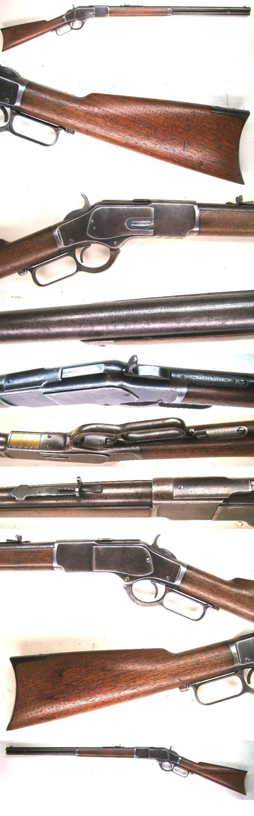 Winchester Model 1873 Rifle 44 cal  Guns > Rifles > Winchester Rifles - Pre-1899 Lever