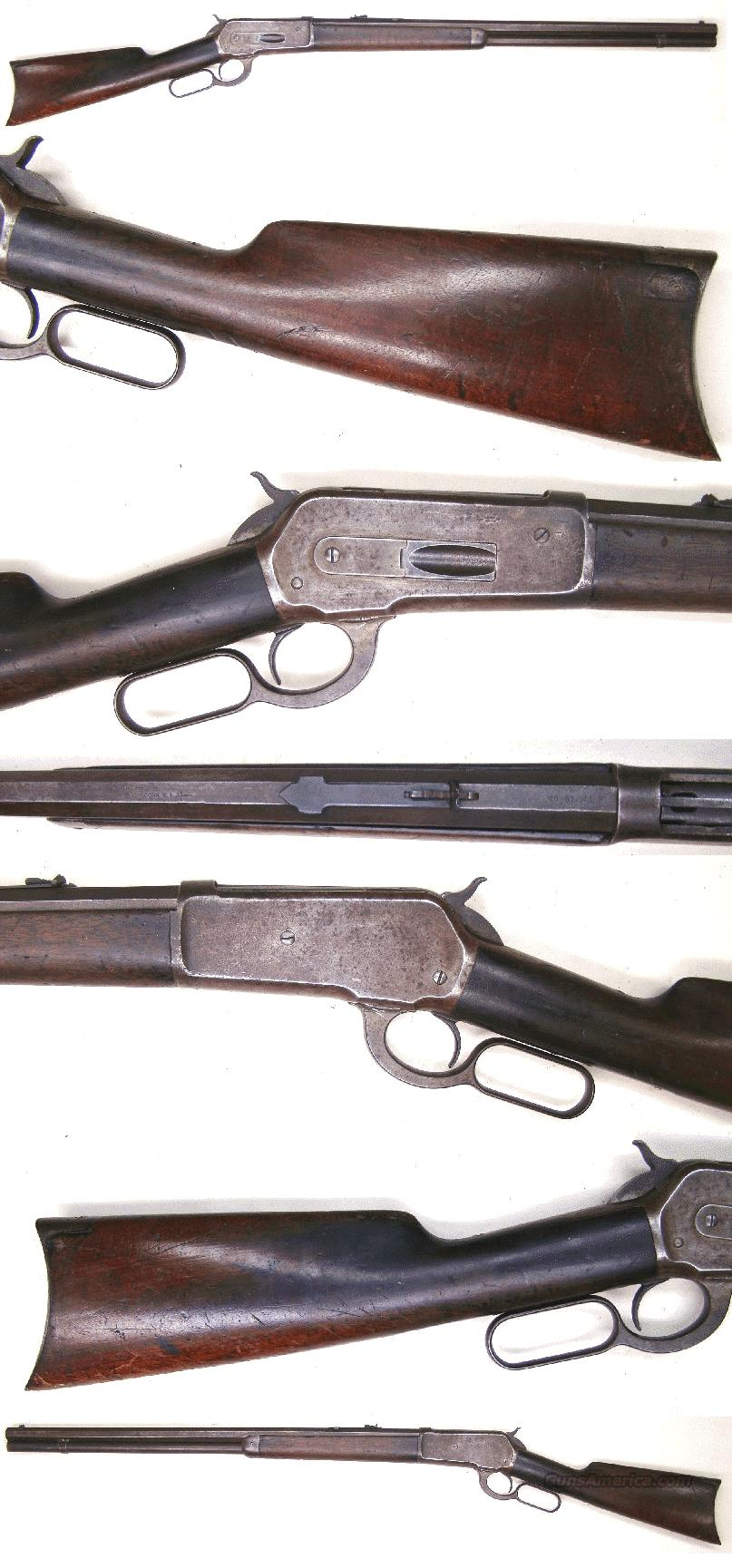 Winchester Model 1886 Rifle 40-82 cal  Guns > Rifles > Winchester Rifles - Pre-1899 Lever