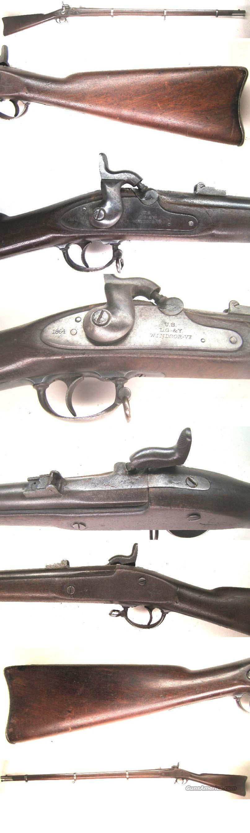 LG&Y  Civil War Special Musket  1864  Guns > Rifles > Military Misc. Rifles US > Civil War
