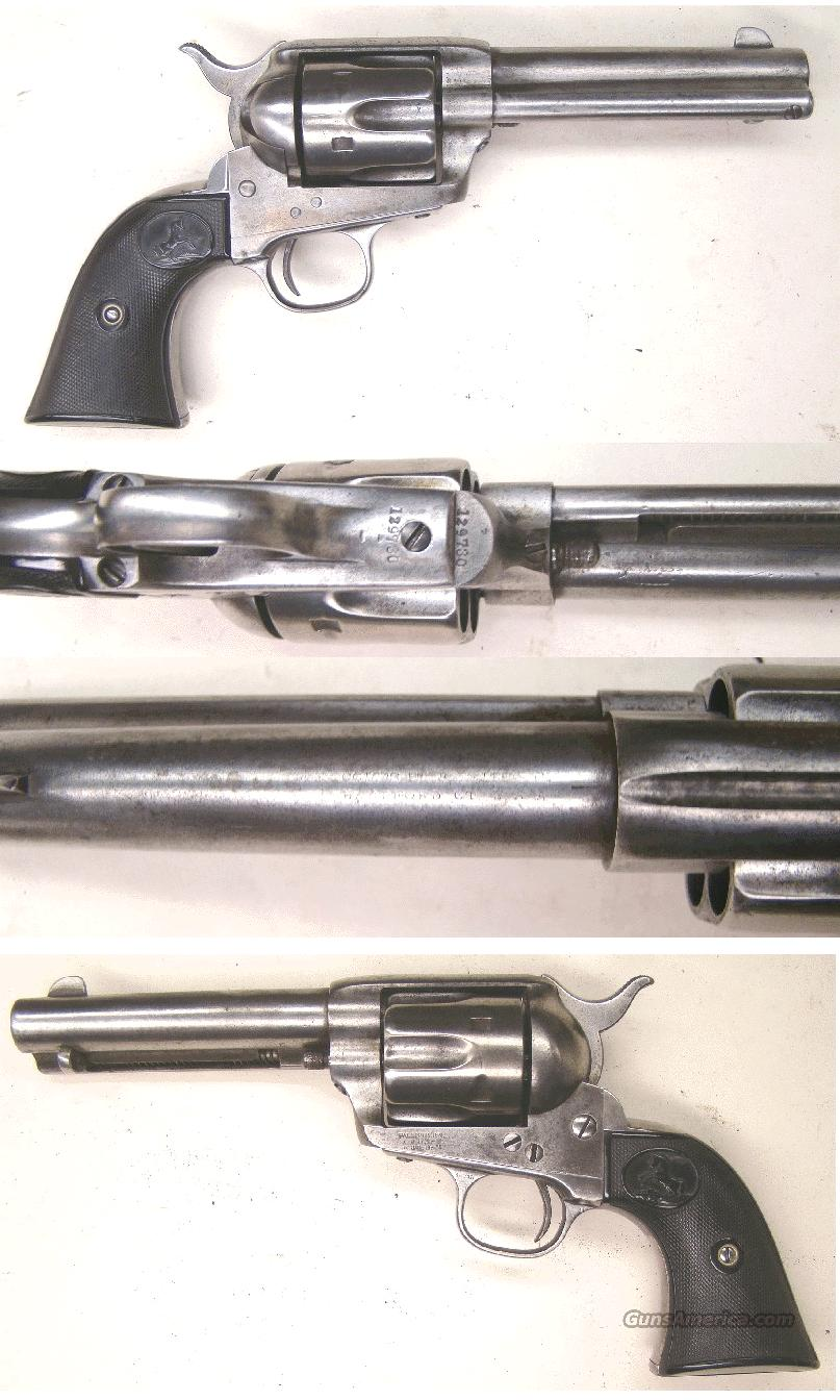 Colt SAA  45   Antique  Guns > Pistols > Colt Single Action Revolvers - 1st Gen.