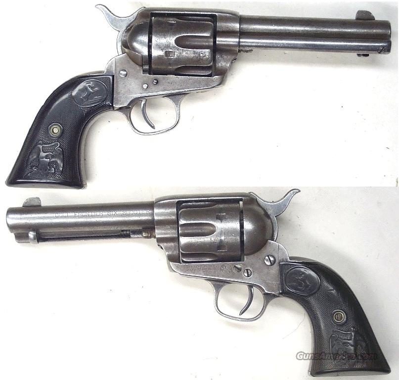 Colt SAA  44-40  Guns > Pistols > Colt Single Action Revolvers - 1st Gen.