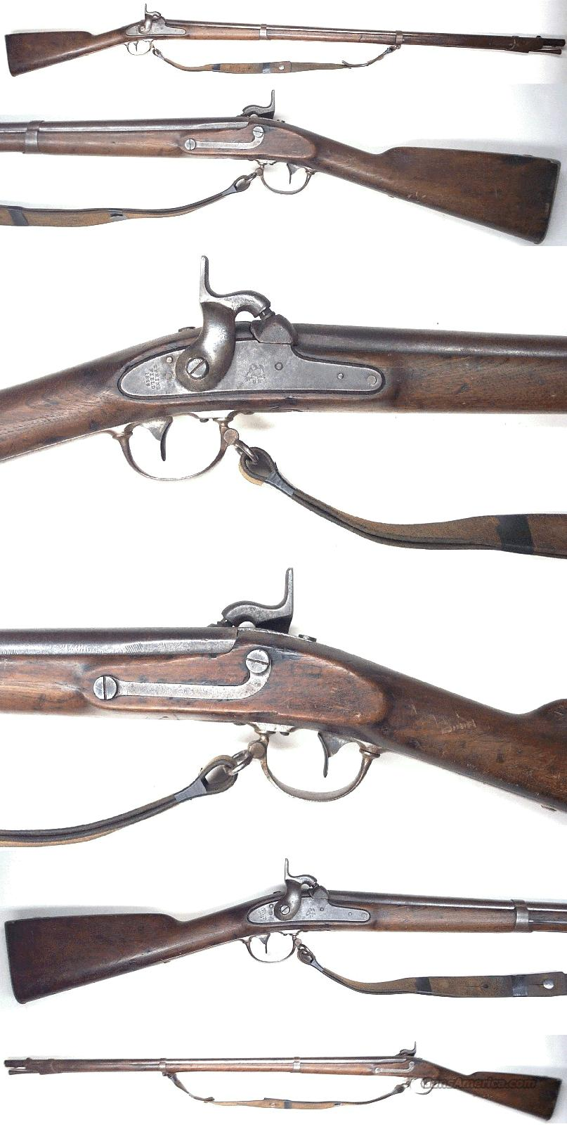 Springfield Model 1842 musket  Guns > Rifles > Military Misc. Rifles US > Civil War