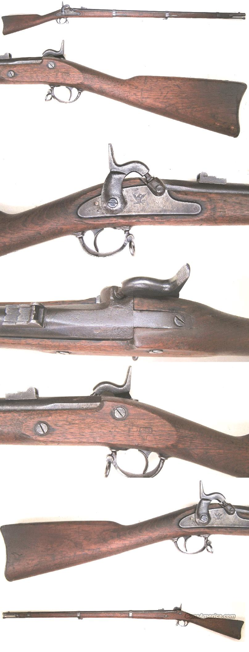 Springfield M.1861 Rifle  58 cal  Guns > Rifles > Military Misc. Rifles US > Civil War